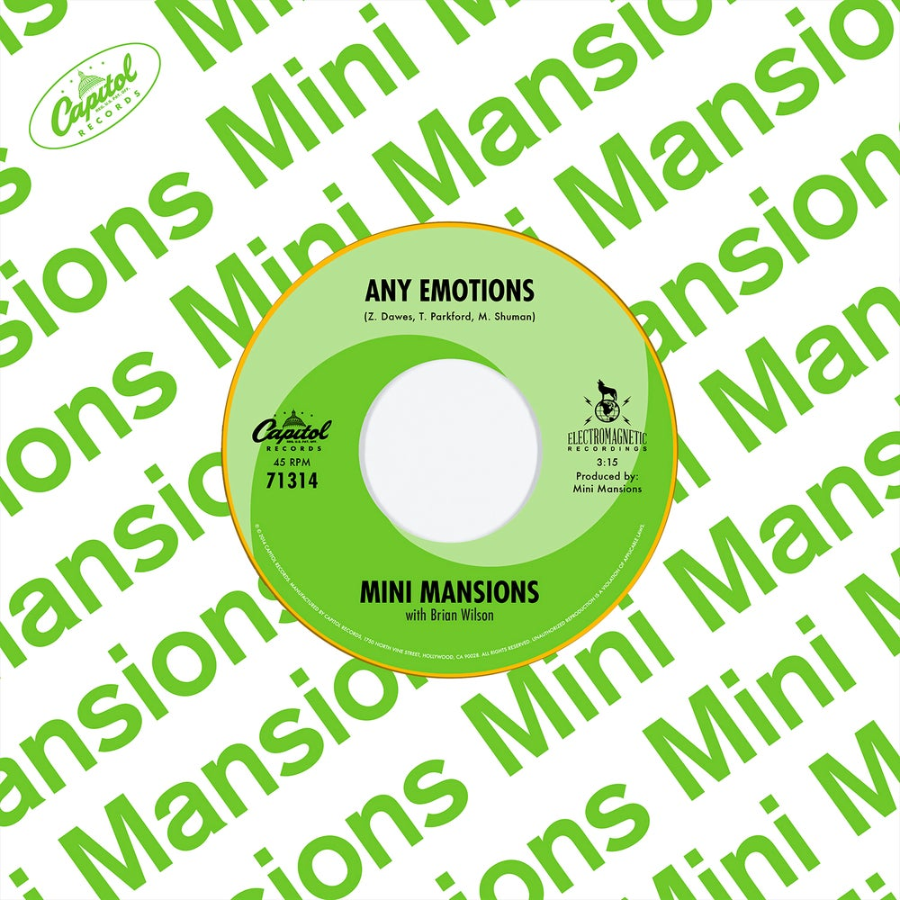 """Image of Mini Mansions Any Emotions 7"""""""