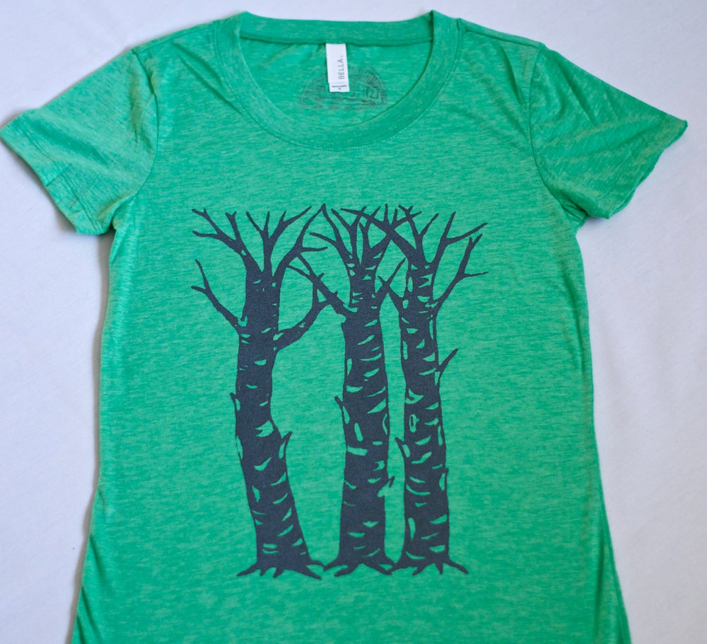 Image of *Three Sisters Tee- Green