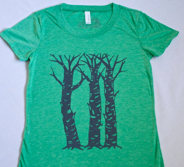 Image of Three Sisters Tee- Green