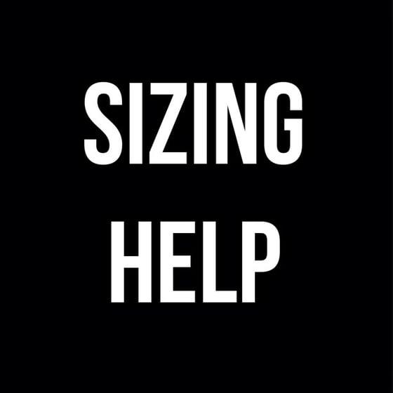 Image of SIZING HELP