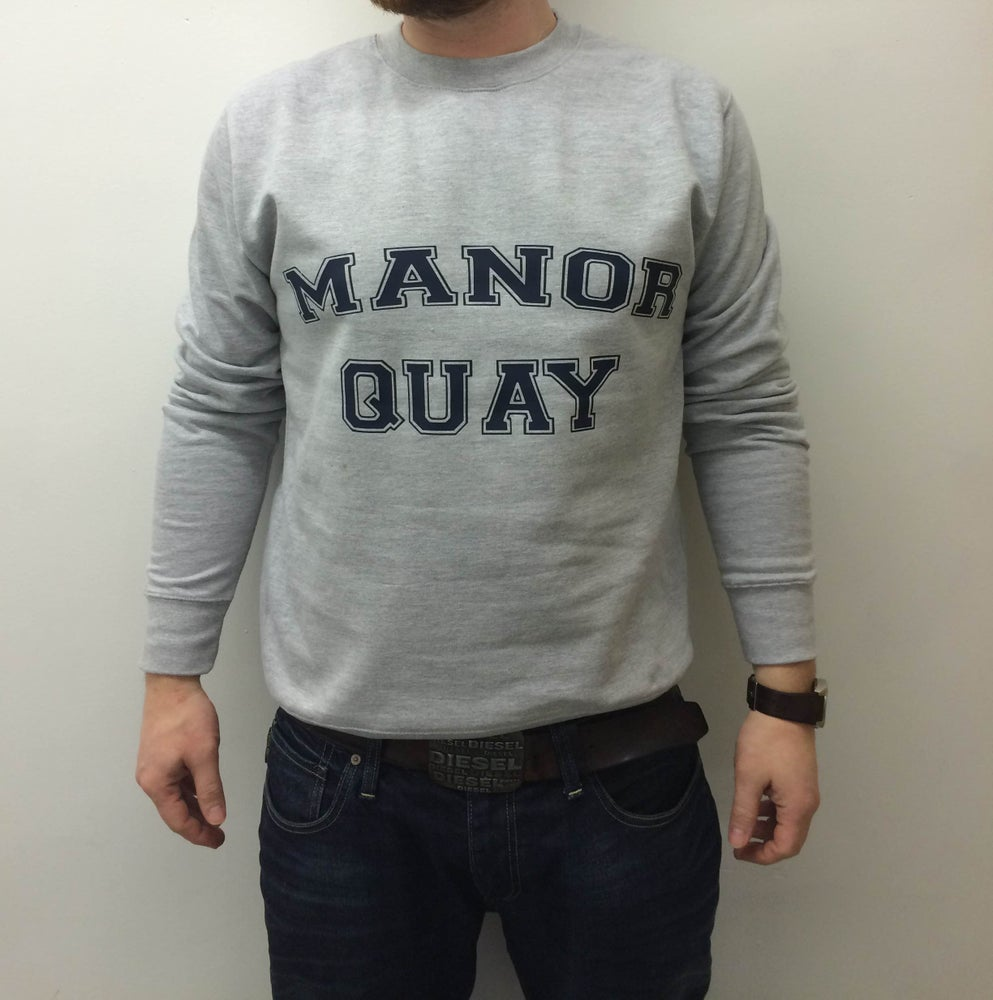 Image of Manor Quay Varsity Sweatshirt