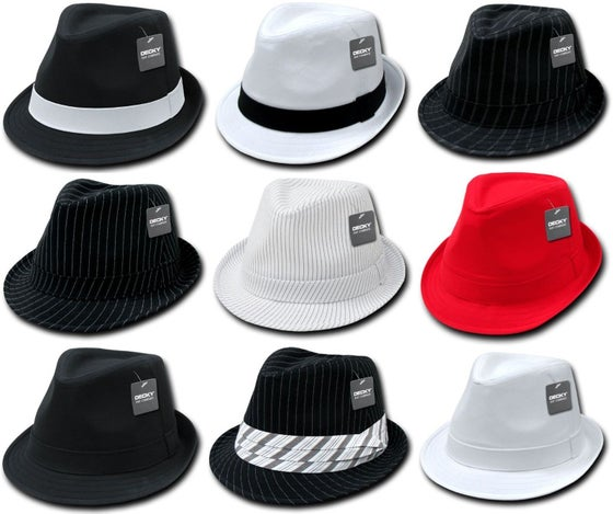 Image of Fedora hats