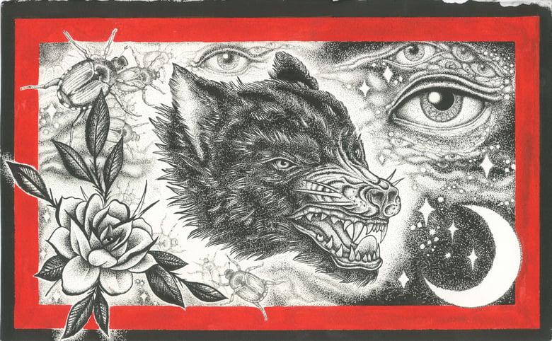 Image of Wolf Garden (print)