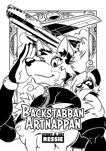 Image of Backstabban Artnappan Limited Run