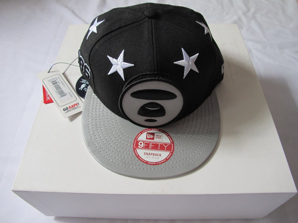 Image of (A Bathing Ape) Aape x New Era - Aape Logo Snapback (Taipei Edition)