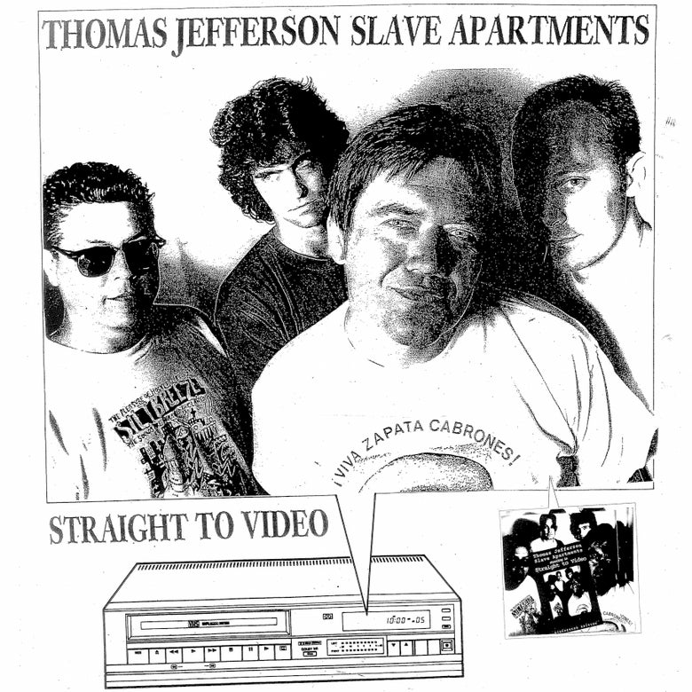 Image of Thomas Jefferson Slave Apartments- Straight to Video LP (STV001)