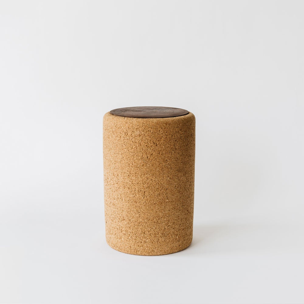 Image of Cork + Wood Stool