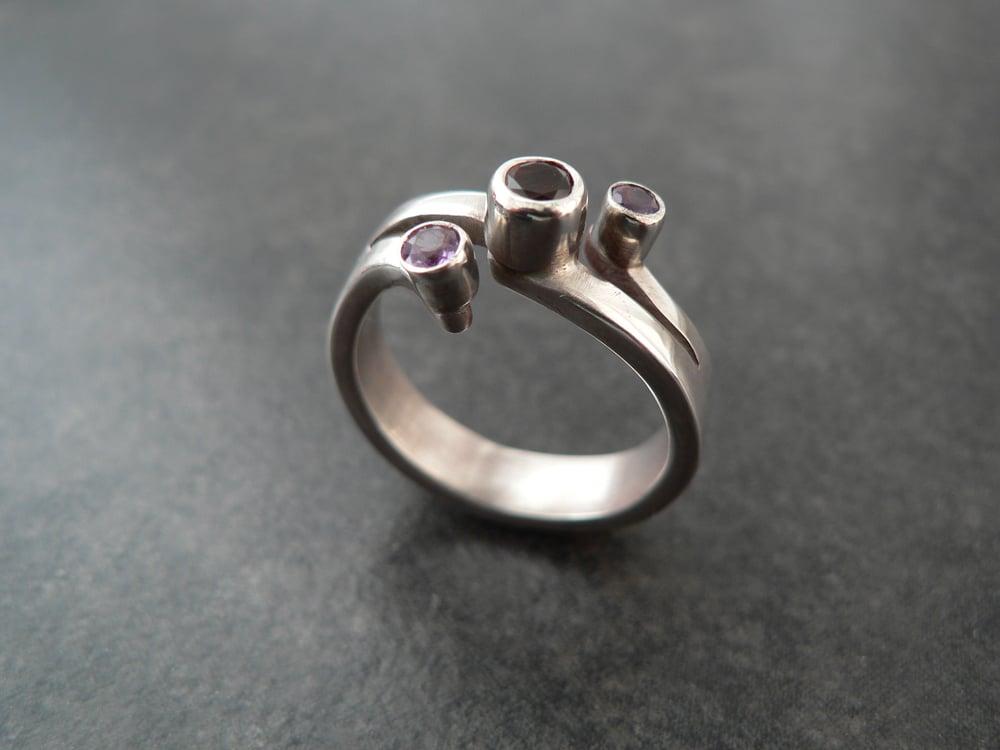 Image of 3 Stone Ring