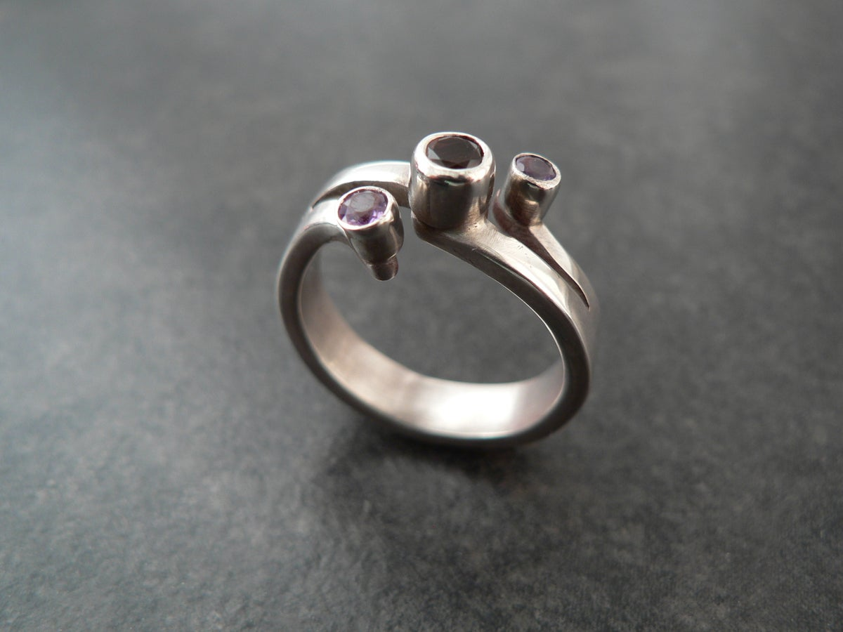 Image of 3 Stone Ring