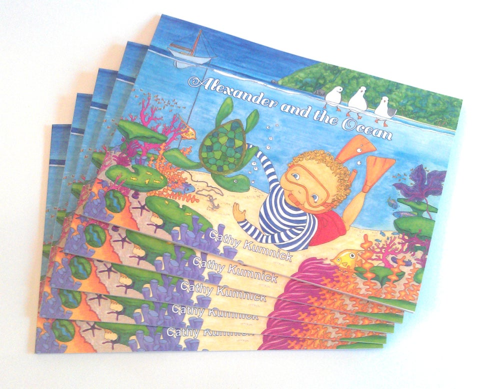 Image of Alexander and the Ocean - Softcover