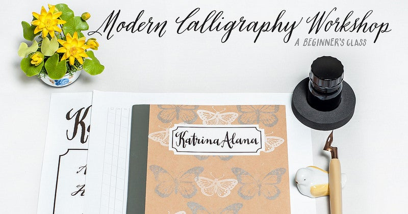 Image of Modern Calligraphy Workshop
