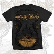 Image of 'Distant Dark Shores' t-shirt
