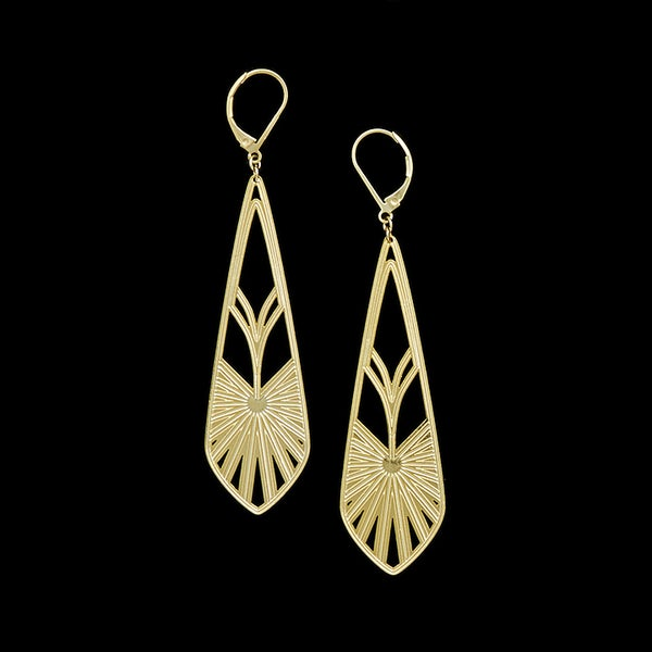 Image of RAYONNANT boucles d'oreilles