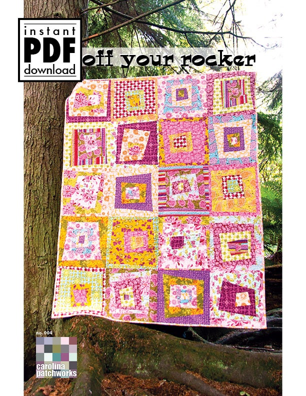 Image of No. 004 -- Off Your Rocker {PDF Version}