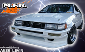 Image of MFR GOOD LINE AE86 LEVIN FRONT