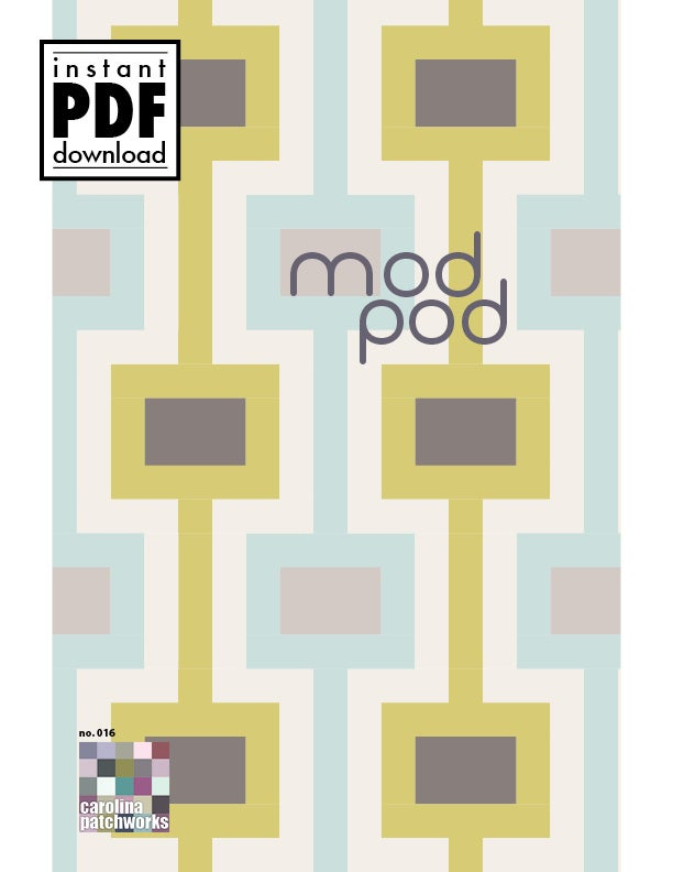 Image of No. 016 -- Mod Pod {PDF Version}