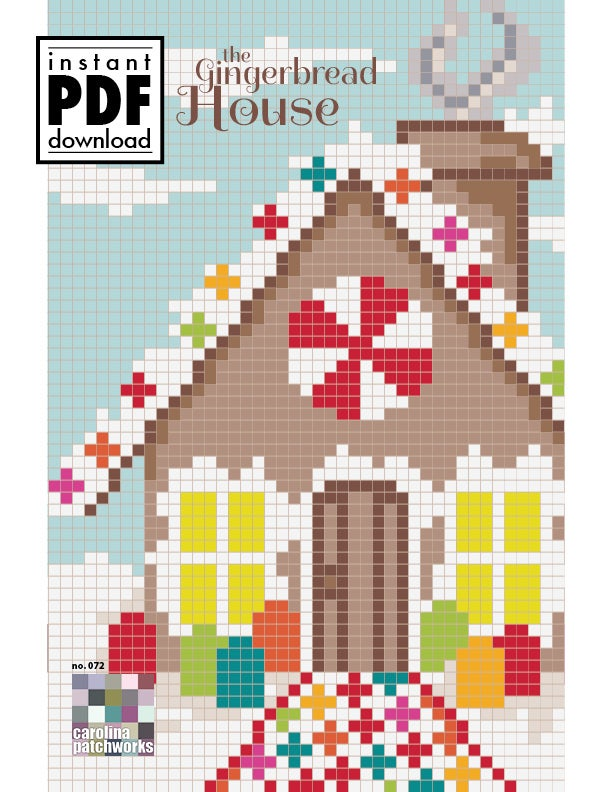 Image of No. 072 -- The Gingerbread House {PDF Version}