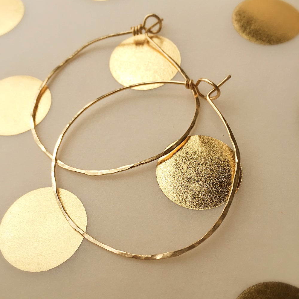 Image of Gold Hoops