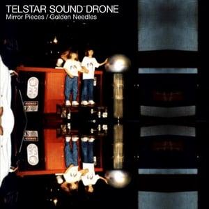 "Image of Telstar Sound Drone – Mirror Pieces / Golden Needles 7"" vinyl ltd edition"