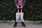 "Image of ""Beware Hipsters"" Tote Bag"
