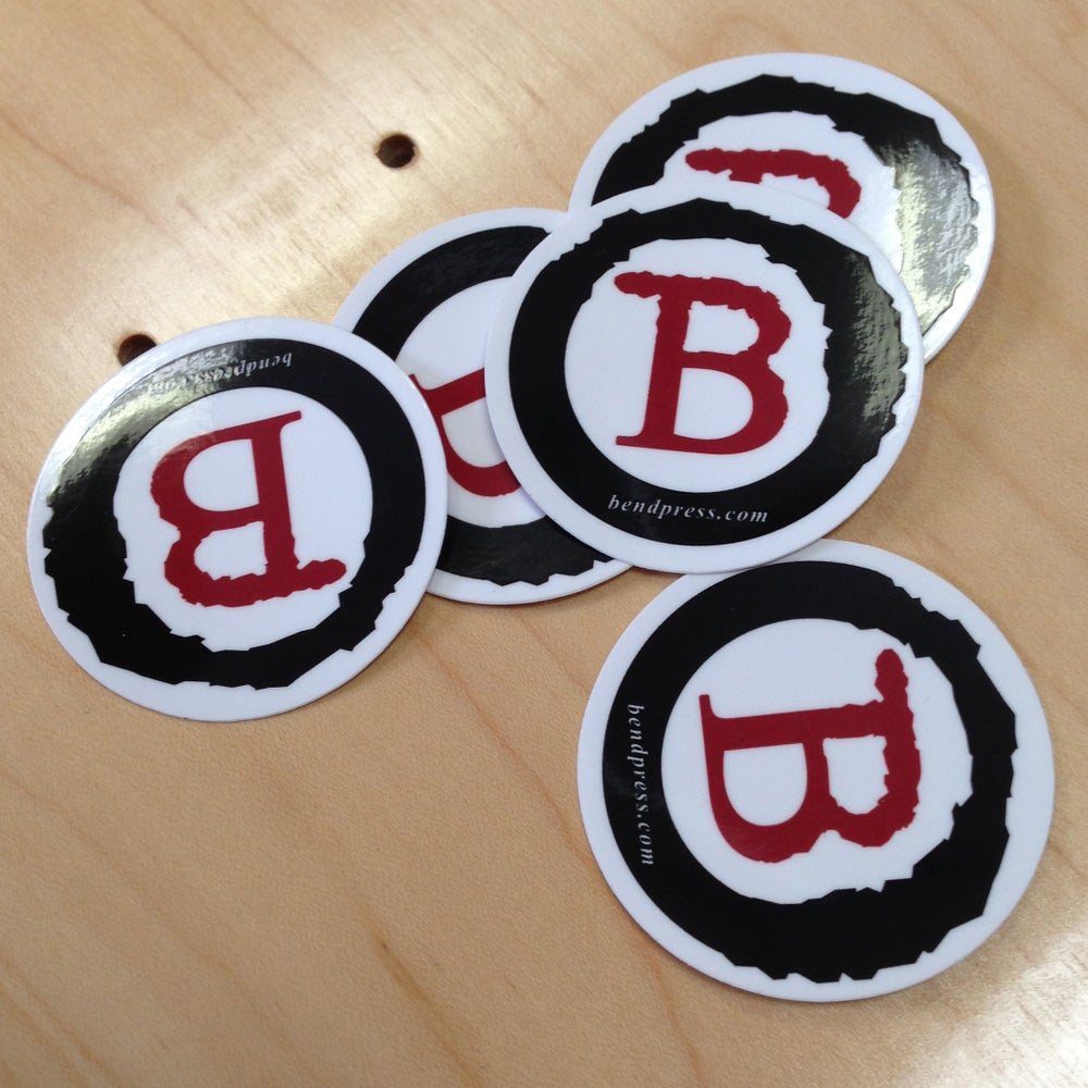 Image of BEND PRESS STICKER PACK