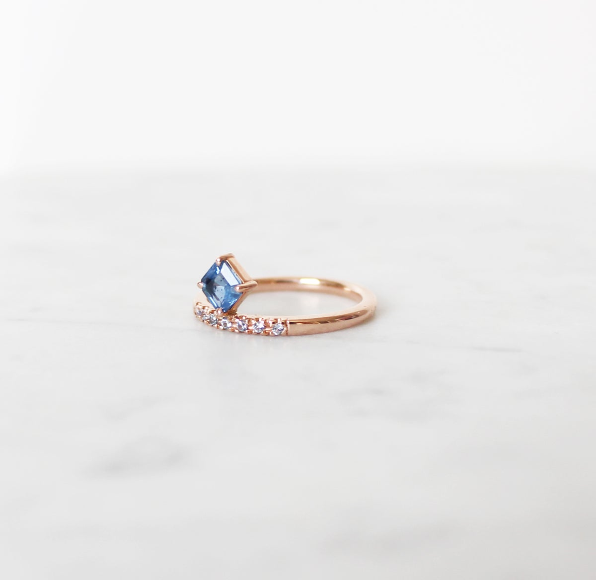 Image of Odette Sapphire Ring