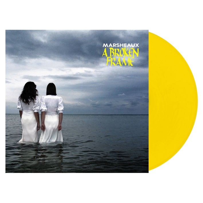 "Image of MARSHEAUX ""A Broken Frame"" LP (yellow vinyl)"