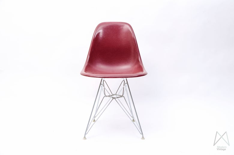 Image of Eames Herman Miller Magenta Rare Color