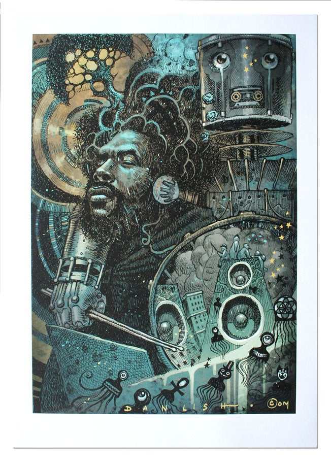 Image of Questlove - Lithograph Print