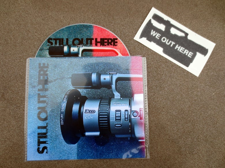 """Image of """"STILL OUT HERE"""" DVD"""