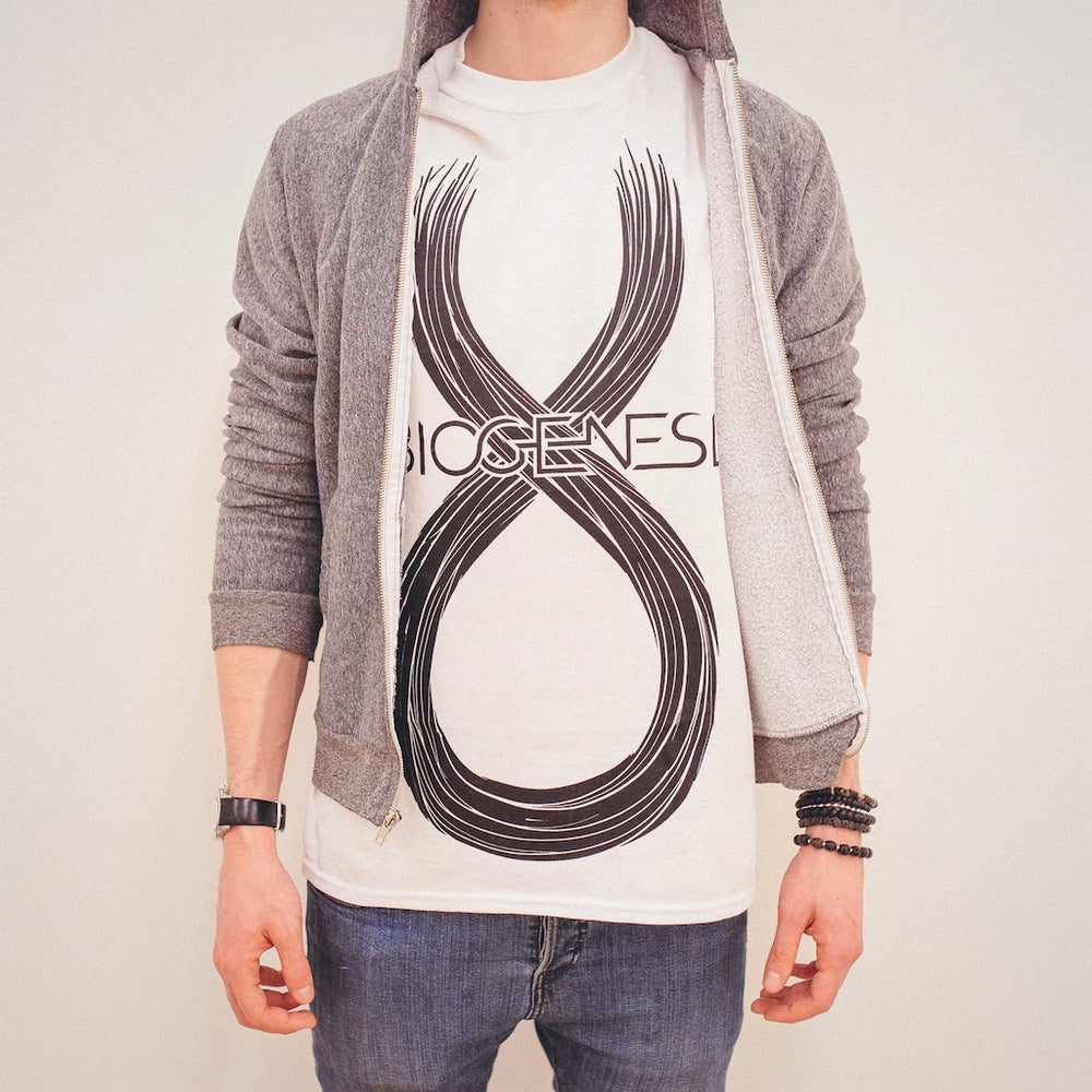Image of Abiogenesis Logo White T-Shirt