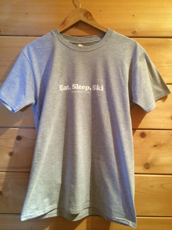 Image of Eat, Sleep, Ski T Shirt Mens
