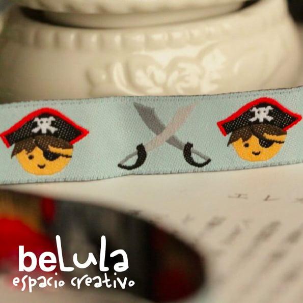 Image of Cinta de tela: Pirata espada
