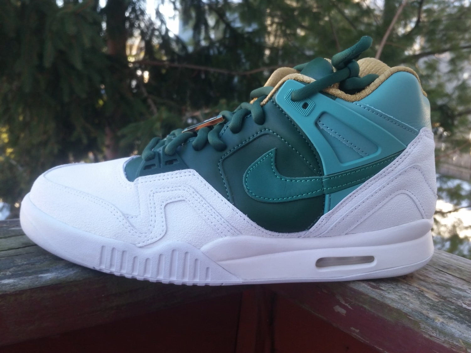 Image of Air Tech Challenge 2 Sp white / jade