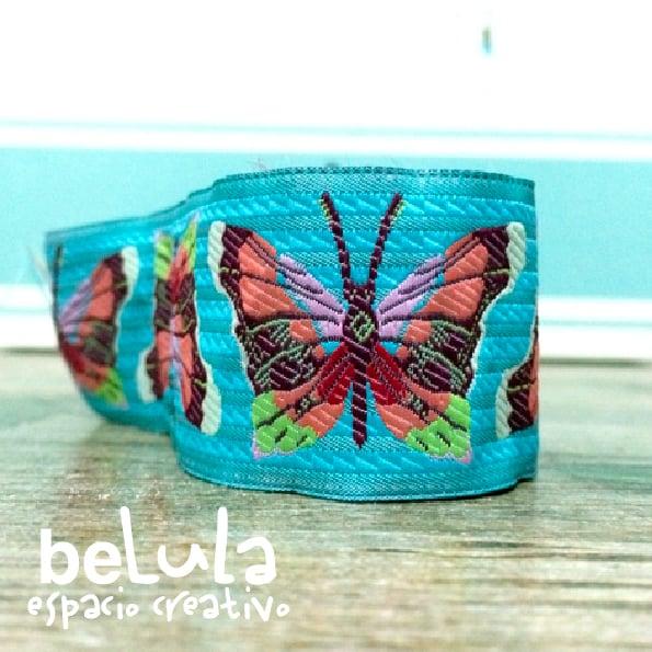 Image of Cinta de tela: mariposas