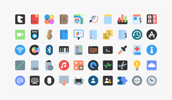 Zion+ (Icons and Illustrator files)