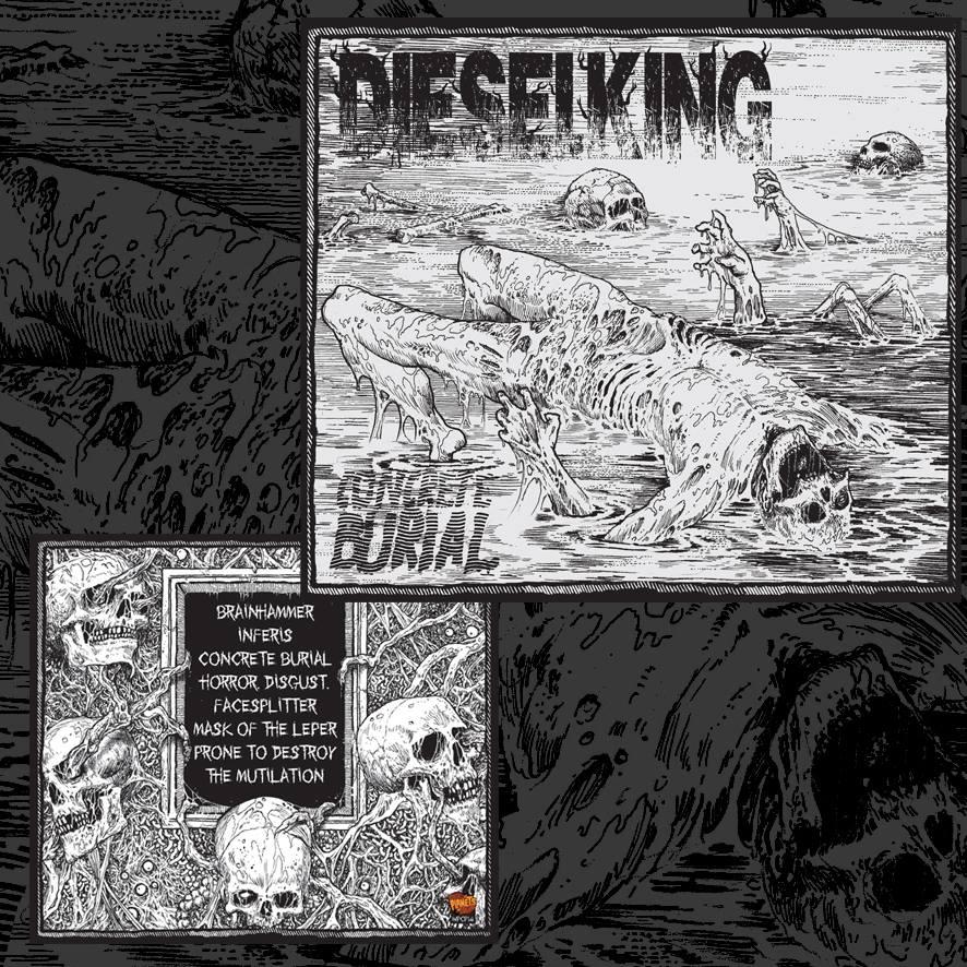 Image of Concrete Burial Album (2015) CD