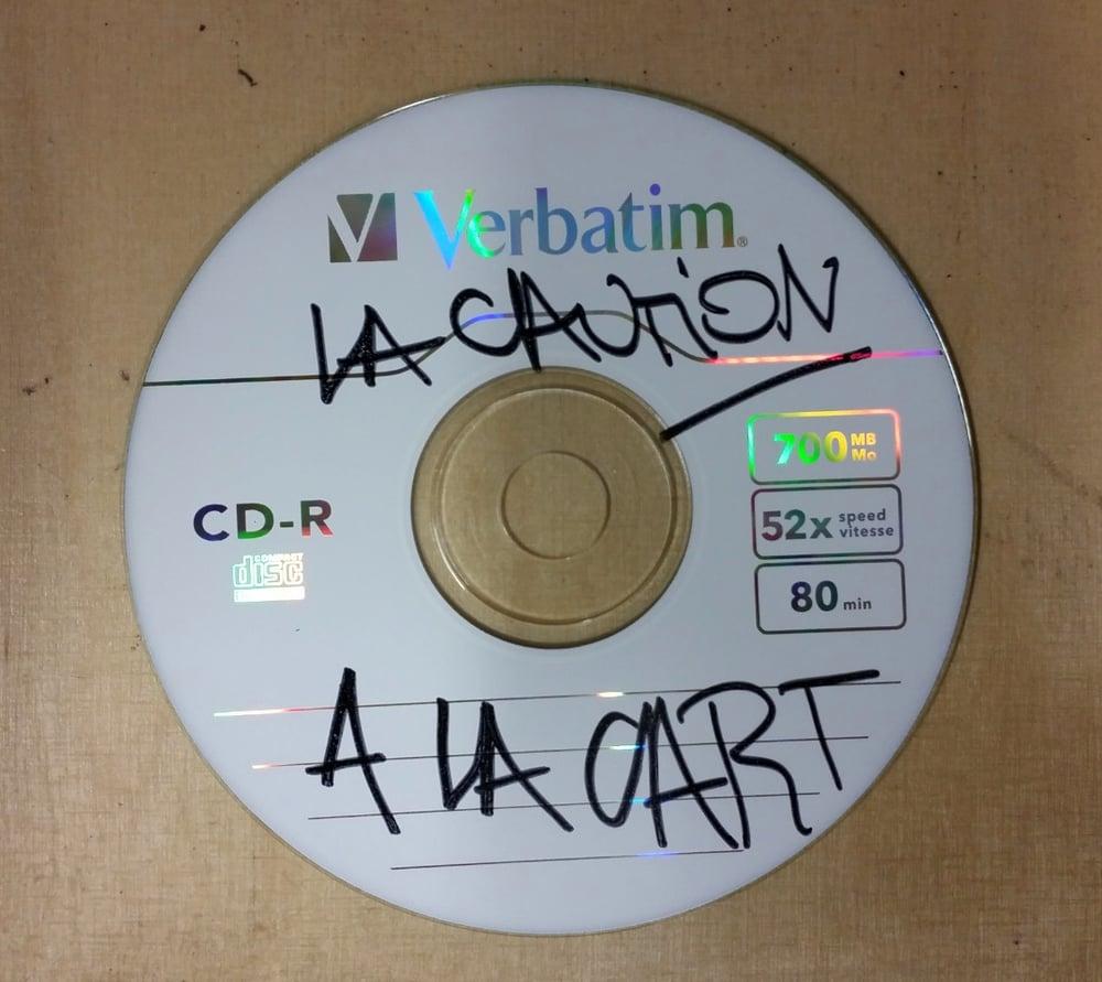 Image of 4 CDs ALACART ! Signé par La Caution (Un Tas de raretés et inédits)