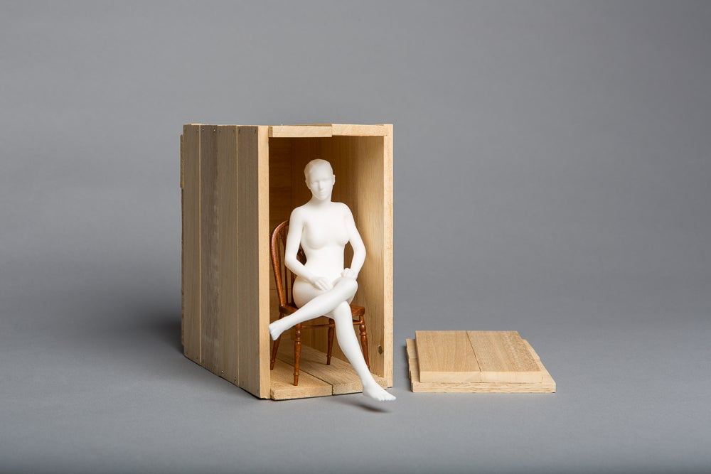 Matthew Darbyshire, <i>Seated Nude</i>, 2014 SOLD OUT