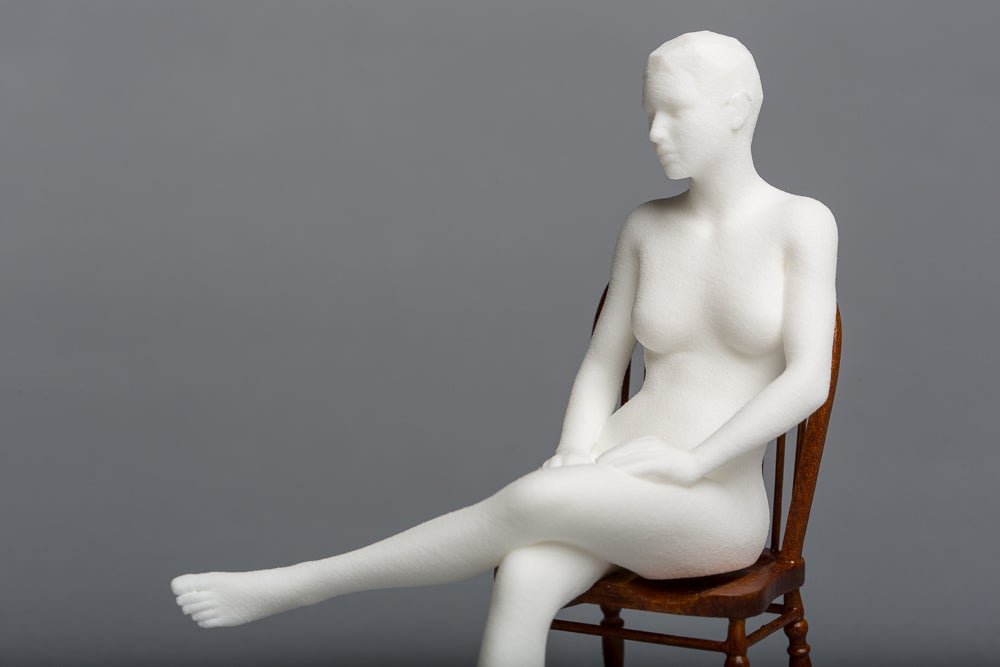 Matthew Darbyshire, <i>Seated Nude</i>, 2014