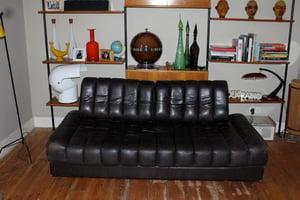 Image of 1970's de sede sofa bed