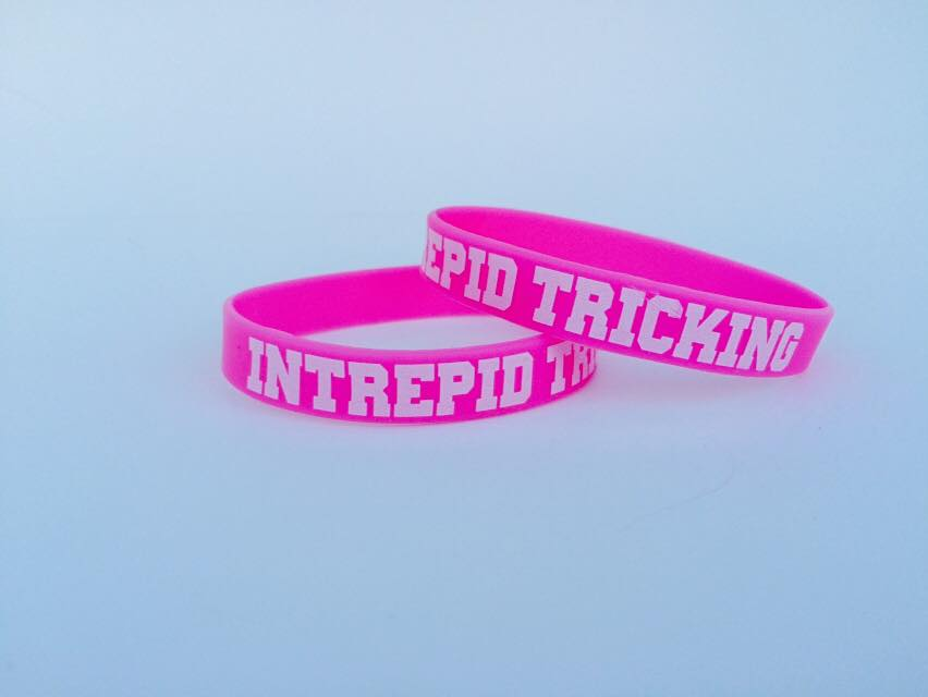 Image of Pink Glow in the Dark Wristband
