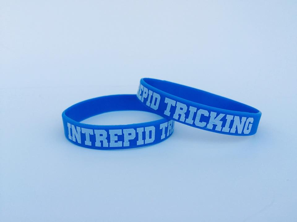 Image of Blue Glow in the Dark Wristband