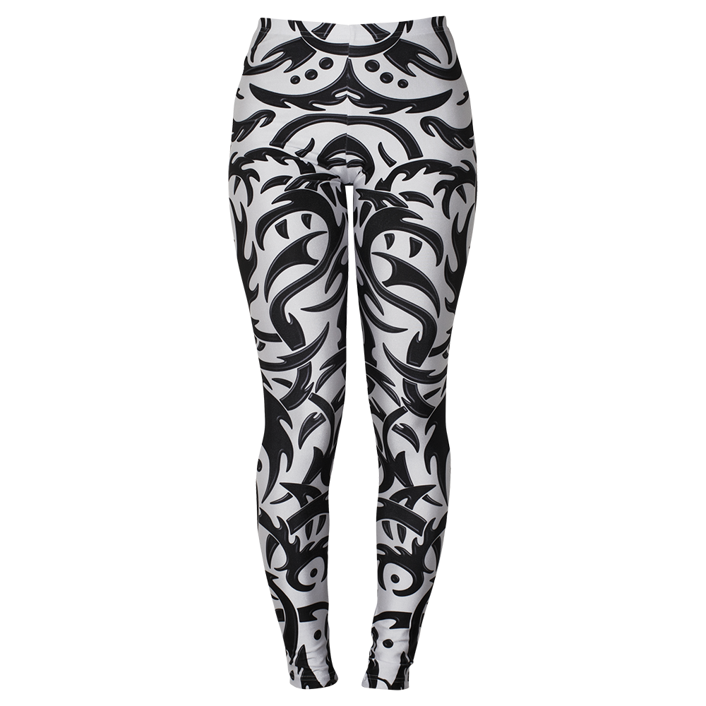 Image of TRIBAL WHITE LEGGINGS