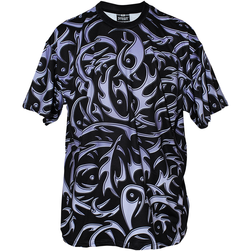 Image of TRIBAL BLACK SHIRT
