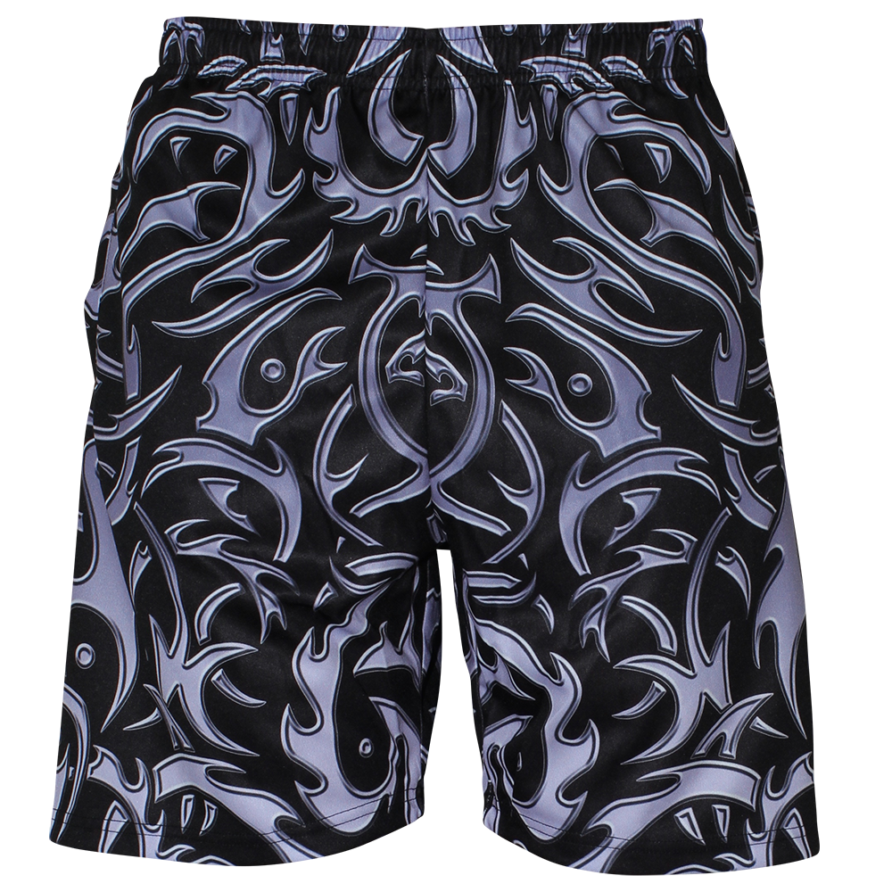 Image of TRIBAL BLACK SHORT