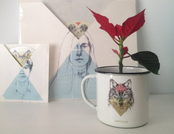 Image of New Wolf mug
