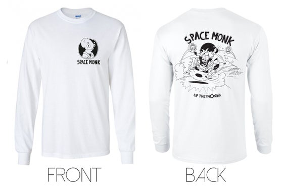 Image of Space Monk long sleeve shirt