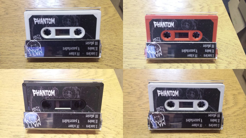 Image of *pre-order* Phantom - Tauchen (EU mainland - 5 each of four colours only) Patch + DL