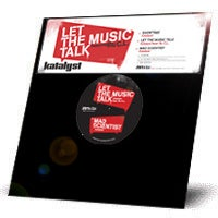 Image of Katalyst - Let The Music Talk - 12""